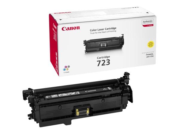 Canon Toner 2641B002 723 Gelb 8.500 Seiten 1 Stück