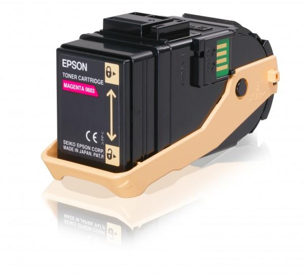 Epson Toner C13S050603 0603 Magenta 7.500 Seiten 1 Stück