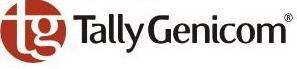 Tally Genicom Farbband 060426 Textilband schwarz Gr. 662 3,6 Mio Zeichen High-Yield