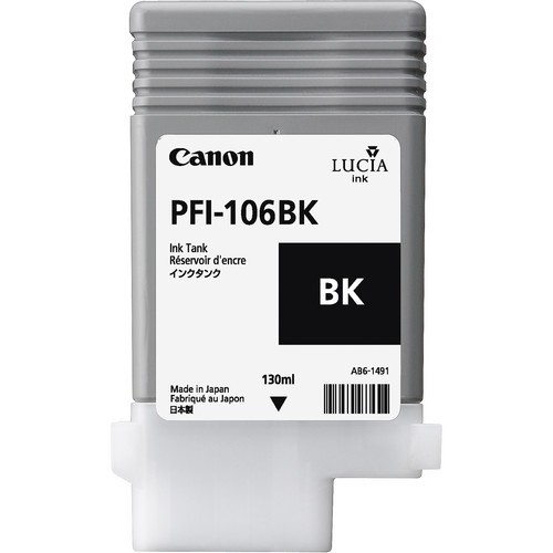 Canon Tinte 6621B001 PFI-106 BK Schwarz 130 ml 1 Stück
