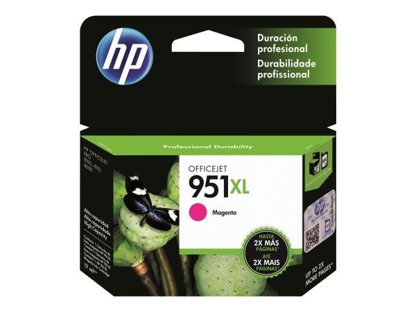 HP Tinte CN047AE 951XL magenta 1.500 Seiten 17 ml Große Füllmenge 1 Stück