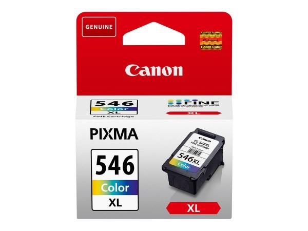 Canon Tinte 8288B001 CL-546 XL Color 300 Seiten 13 ml Große Füllmenge 1 Stück
