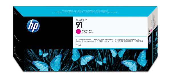 HP Tinte C9468A 91 magenta 775 ml pigmentiert 1 Stück