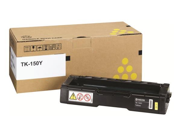 Kyocera Toner 1T05JKANL0 TK-150Y Gelb 6.000 Seiten 1 Stück