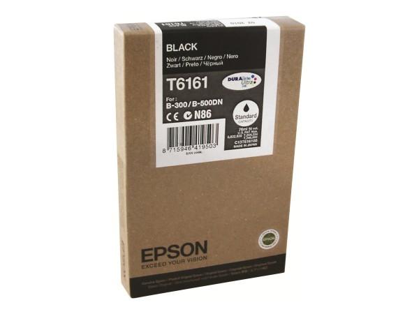 Epson Tinte C13T616100 T6161 schwarz 3.000 Seiten 76 ml 1 Stück