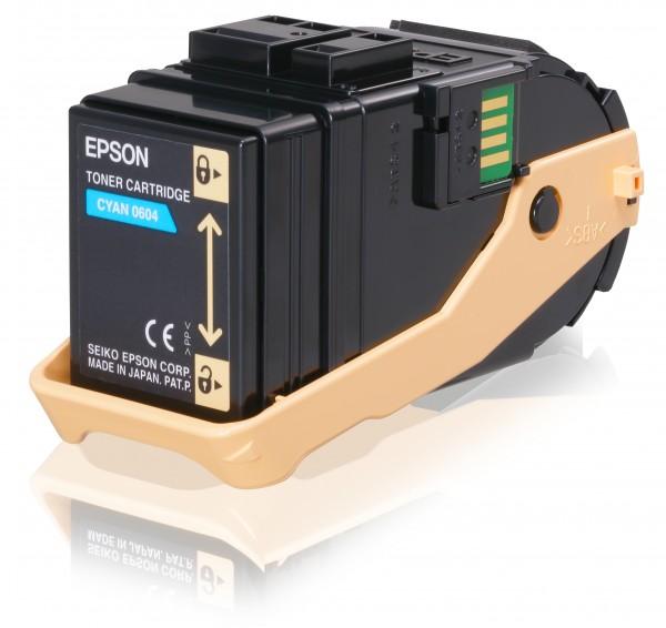 Epson Toner C13S050604 0604 Cyan 7.500 Seiten 1 Stück