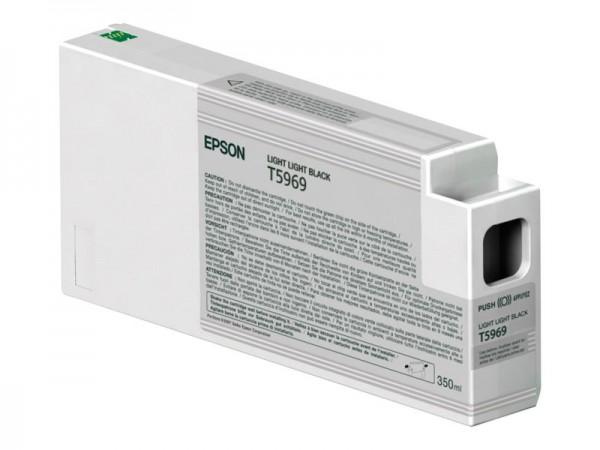 Epson Tinte C13T596900 T5969 Hell Hell Schwarz 350 ml 1 Stück