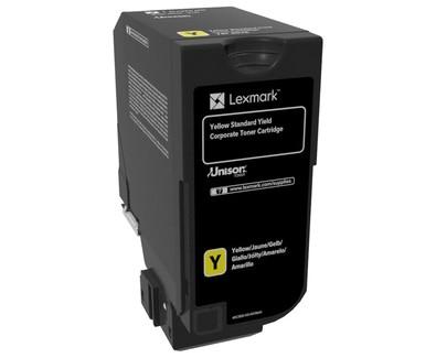 Lexmark Toner 74C2SYE Gelb 7.000 Seiten 1 Stück