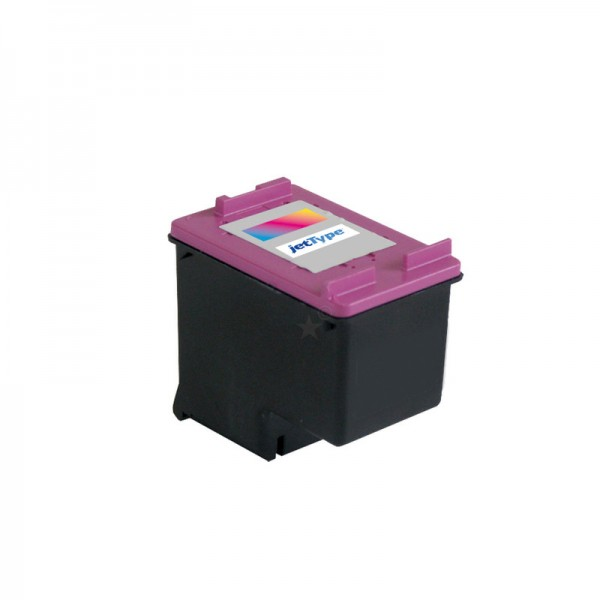 jetType Tinte kompatibel zu HP CC644EE color 18 ml 440 Seiten