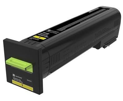 Lexmark Toner 82K2XYE gelb 22.000 Seiten Corporate Toner 1 Stück