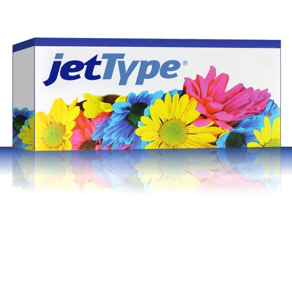 jetType Toner kompatibel zu Oki 44992402 Schwarz 2.500 Seiten Große Füllmenge 1 Stück
