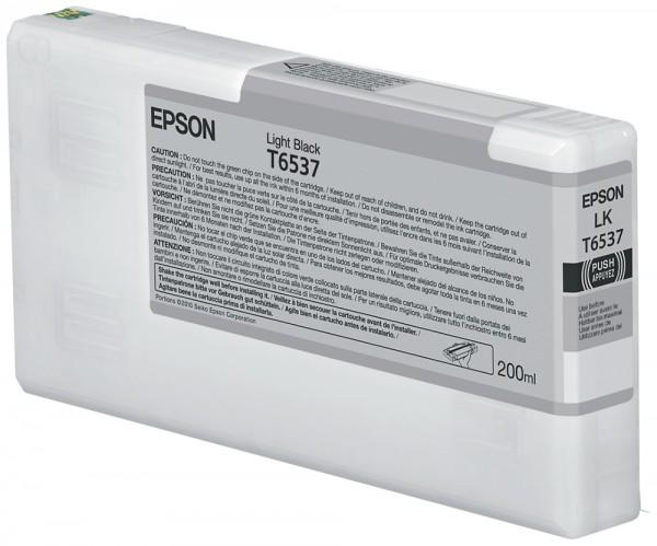 Epson Tinte C13T653700 T6537 Hell Schwarz 200 ml 1 Stück