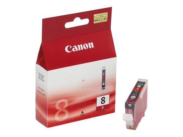 Canon Tinte 0626B001 CLI-8 R Rot 5.790 Seiten 13 ml 1 Stück