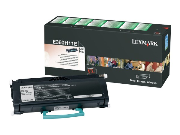 Lexmark Toner E360H11E schwarz 9.000 Seiten 1 Stück