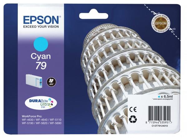 Epson Tinte C13T79124010 79 Cyan 800 Seiten 6,5 ml 1 Stück