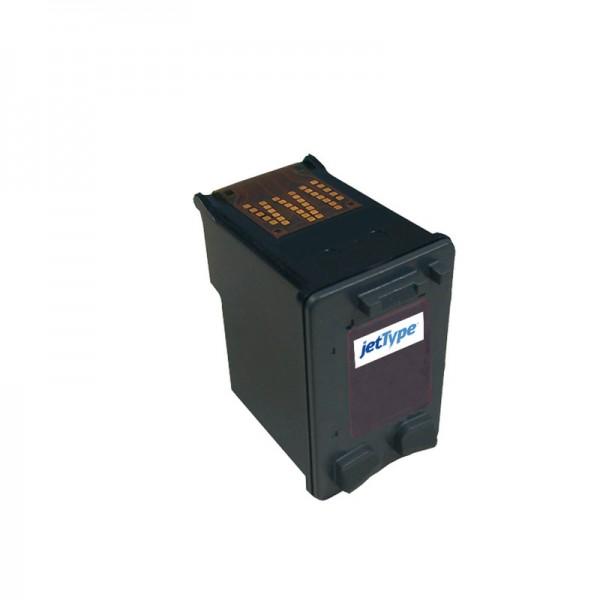 jetType Tinte kompatibel zu HP C6656AE 56 schwarz 560 Seiten 21 ml 1 Stück