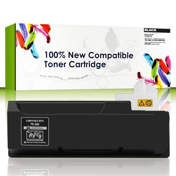 Cartridgeweb Toner kompatibel zu Kyocera/Mita 1T02J20EU0 TK360 schwarz 20.000 Seiten