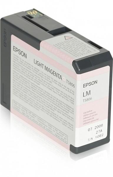 Epson Tinte C13T580600 T5806 Hell Magenta 80 ml 1 Stück