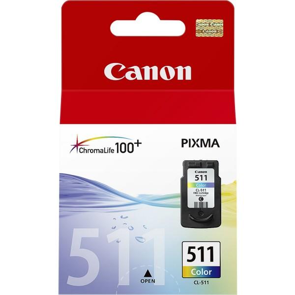 Canon Tinte 2972B001 CL-511 color 244 Seiten 9 ml 1 Stück