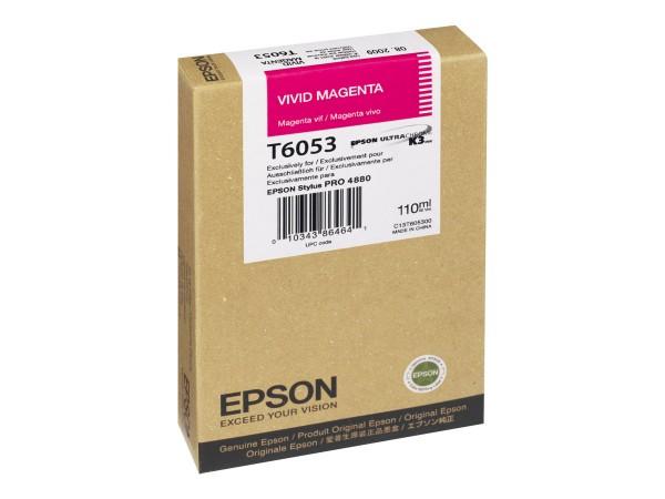 Epson Tinte C13T605300 T6053 vivid magenta 110 ml 1 Stück