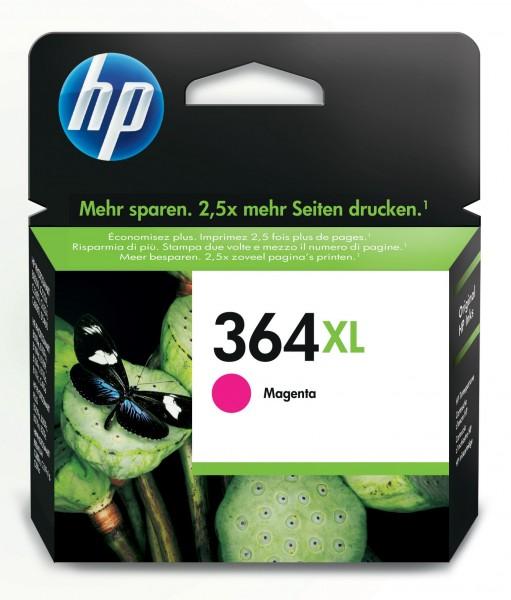 HP Tinte CB324EE 364XL magenta 750 Seiten 6 ml Große Füllmenge 1 Stück