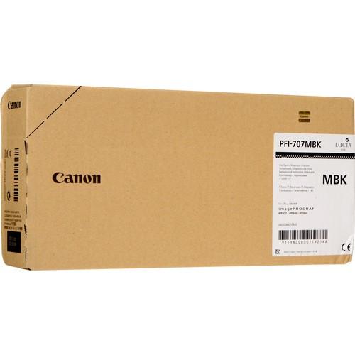 Canon Tinte 9820B001 PFI-707 MBK Mattschwarz 700 ml 1 Stück