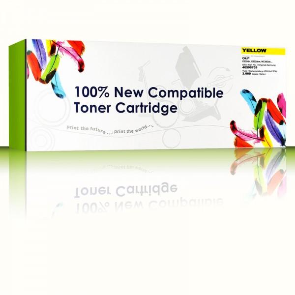 CartridgeWeb Toner kompatibel zu Oki 46508709 Gelb 3.000 Seiten 1 Stück