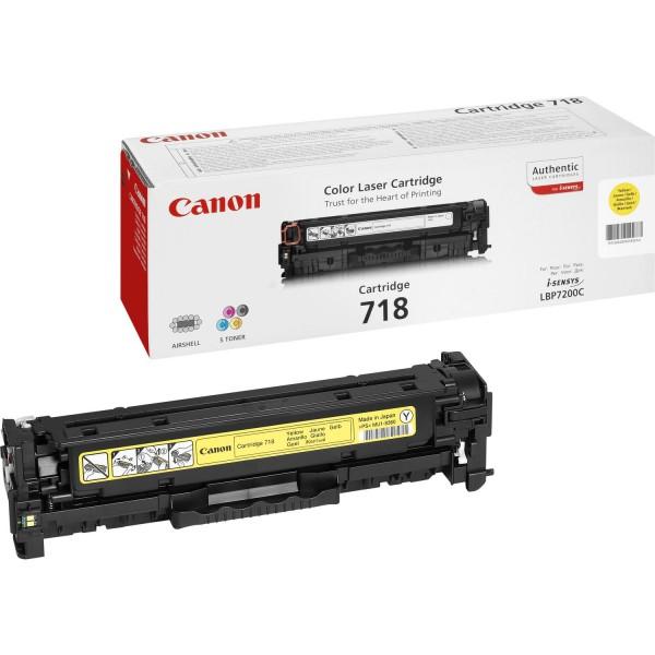 Canon Toner 2659B002 718 Gelb 2.900 Seiten 1 Stück