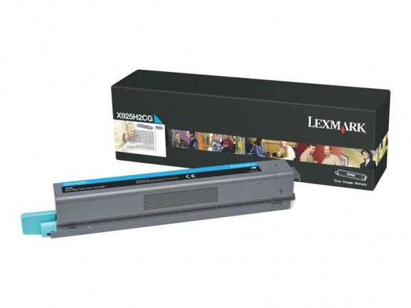 Lexmark Toner X925H2CG cyan 7.500 Seiten 1 Stück