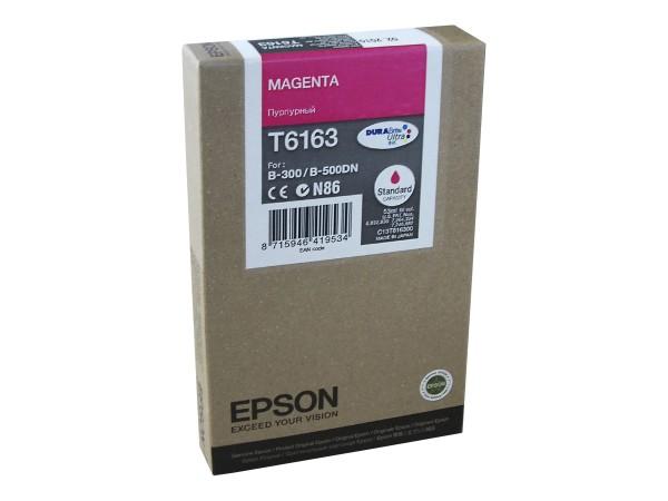 Epson Tinte C13T616300 T6163 magenta 3.500 Seiten 53 ml 1 Stück
