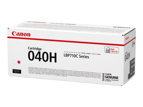 Canon Toner 0457C001 040 H Magenta 10.000 Seiten 1 Stück