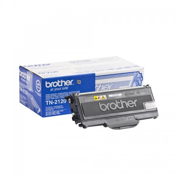 Brother Toner TN-2120 Schwarz 2.600 Seiten 1 Stück