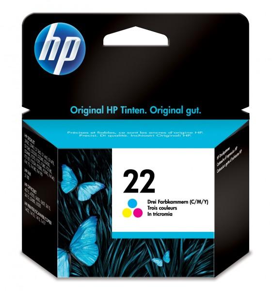HP Tinte C9352AE 22 Color 165 Seiten 5 ml 1 Stück