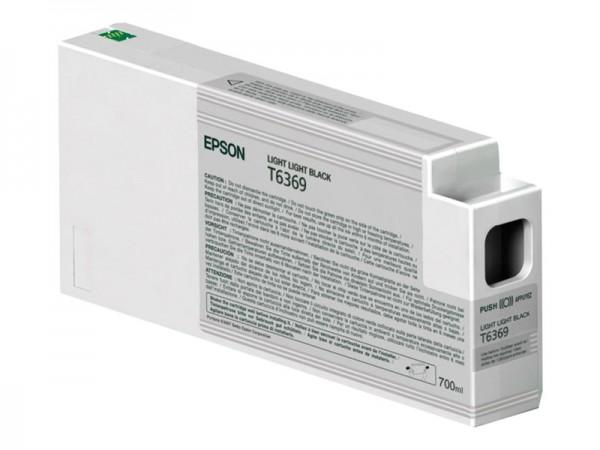 Epson Tinte C13T636900 T6369 Hell Hell Schwarz 700 ml 1 Stück