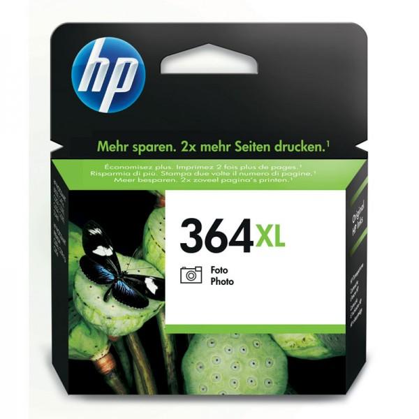 HP Tinte CB322EE 364XL Fotoschwarz 290 Seiten 7 ml Große Füllmenge 1 Stück