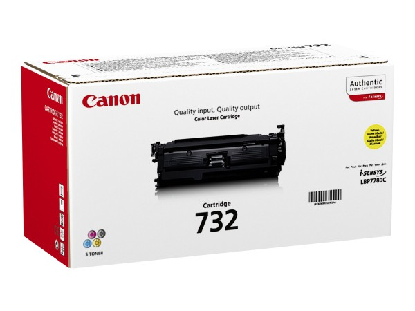 Canon Toner 6260B002 732 Gelb 6.400 Seiten 1 Stück