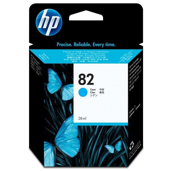 HP Tinte C4911A 82 cyan 4.300 Seiten 69 ml 1 Stück