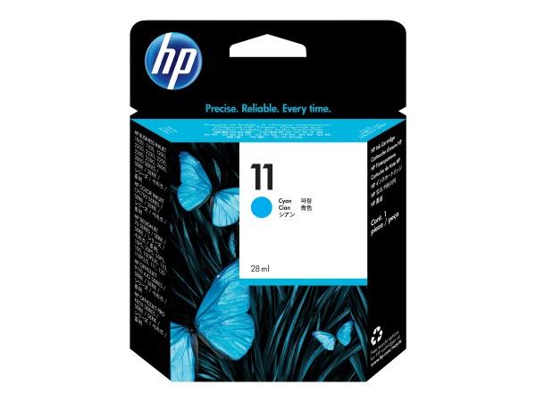 HP Tinte C4836A 11 cyan 2.350 Seiten 28 ml 1 Stück