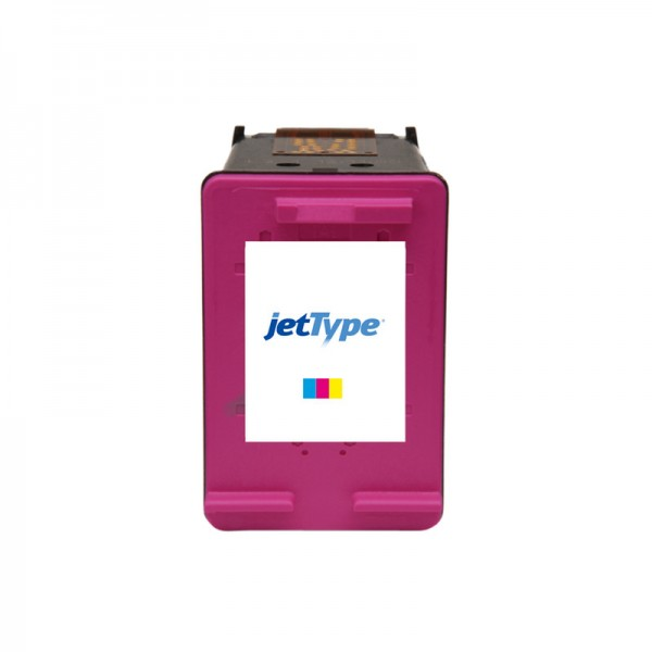 jetType Tinte kompatibel zu HP CC656A 901 color 370 Seiten 18 ml