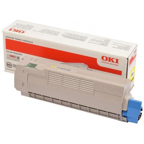 Oki Toner 46507505 Gelb 6.000 Seiten 1 Stück