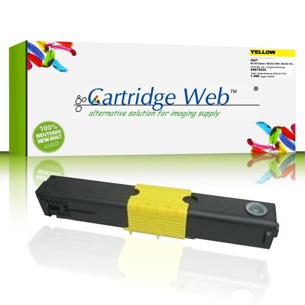 Cartridgeweb Toner kompatibel zu Oki 44973533 gelb 1.500 Seiten
