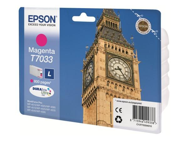 Epson Tinte C13T70334010 T7033 magenta 800 Seiten 9,6 ml 1 Stück