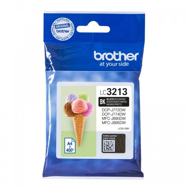 Brother Tinte LC-3213 BK Schwarz 400 Seiten 1 Stück