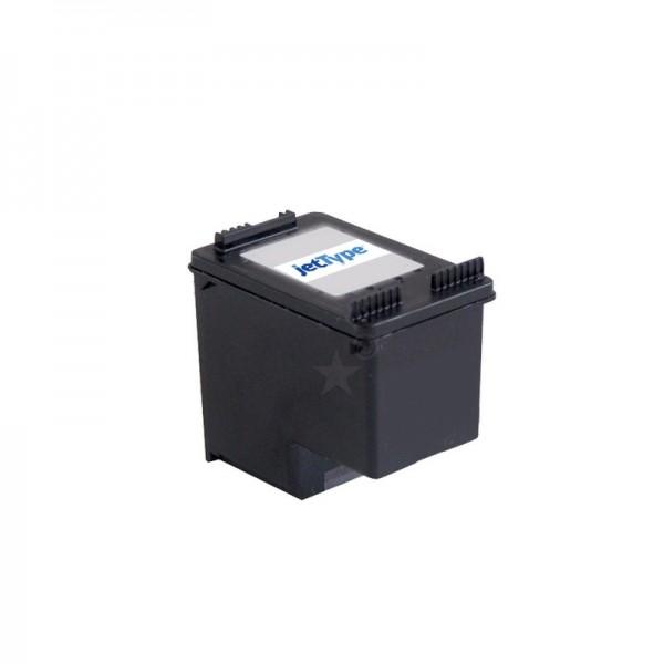 jetType Tinte kompatibel zu HP CC641EE schwarz 660 Seiten 21 ml