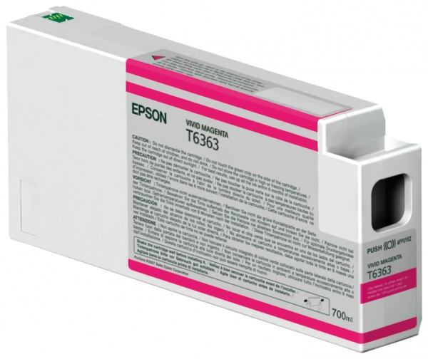Epson Tinte C13T636300 T6363 vivid magenta 700 ml 1 Stück