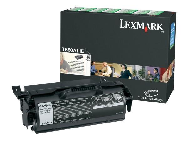 Lexmark Toner T650A11E schwarz 7.000 Seiten 1 Stück