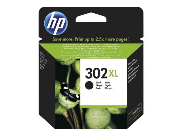HP Tinte F6U68AE 302XL schwarz 480 Seiten 8,5 ml Große Füllmenge 1 Stück
