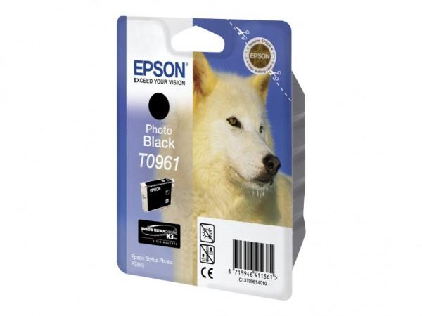 Epson Tinte C13T09614010 T0961 schwarz 11,4 ml 1 Stück
