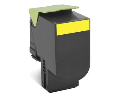 Lexmark Toner 80C2SY0 802SY gelb 2.000 Seiten 1 Stück