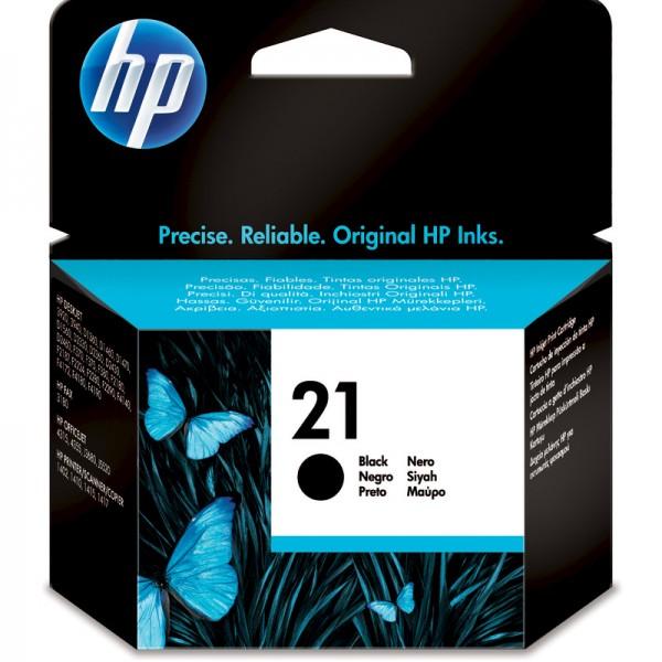 HP Tinte C9351AE 21 schwarz 190 Seiten 5 ml 1 Stück